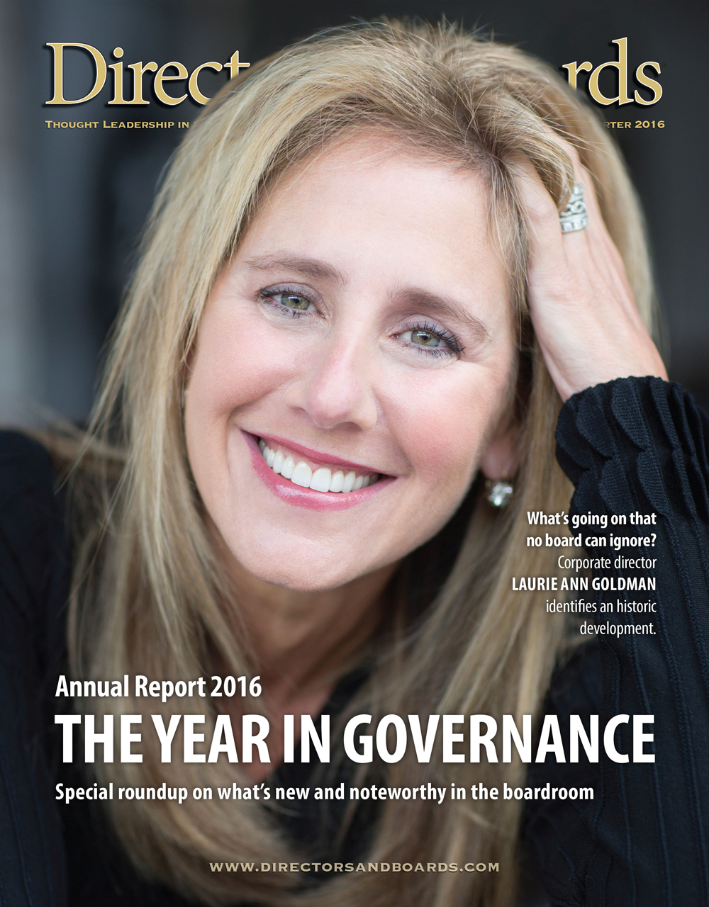 Directors & Boards 2016 Annual Report Cover
